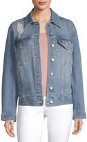 Arizona Midweight Denim Jacket-Juniors