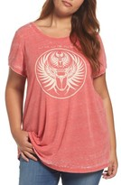 Lucky Brand Plus Size Women's Journey Graphic Tee