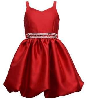 Iris & Ivy Girl's Mikado Bubble Dress