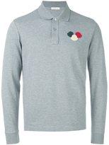 Moncler long sleeve polo shirt - men - Cotton - XL
