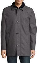 Vince Camuto Bibbed Walker Coat