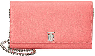 Burberry Hannah Tb Grainy Leather Crossbody