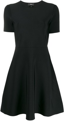 Theory Stretch Skater Dress