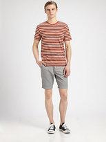 Vince Single Flap Trouser Shorts