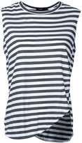 Bassike stripe heritage tank - women - Cotton - XS
