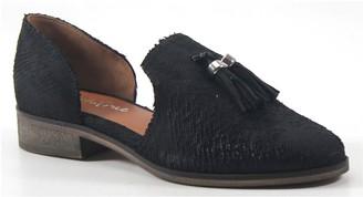 Diba True Cut Leather Loafers - Neat Freak