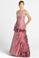 Blush Lingerie Rose Embellished Sequined Long Dress 9214
