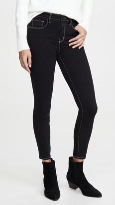 L'Agence Margot High Waist Skinny Jeans