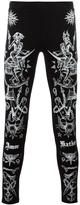 Givenchy tattoo print leggings - men - Cotton - S