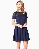 Charming charlie Crochet Cutout Dress