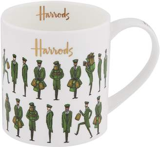 Harrods Green Man Mug