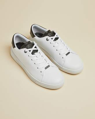 Ted Baker Leather Monochrome Trainers