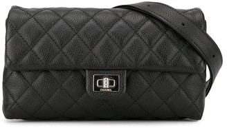 Chanel Pre Owned 1992 2.55 Mademoiselle turn-lock belt bag