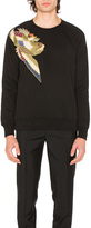 Scotch & Soda Shoulder Applique Crewneck Sweater