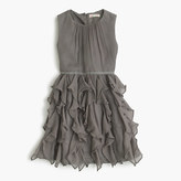 J.Crew Girls' Cassie dress in crinkle chiffon