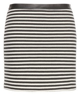 Alexander Wang Twisted Stripe knitted miniskirt