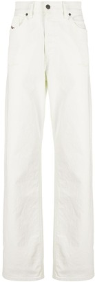 Diesel D-Macs high-rise straight-leg jeans