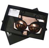 Brakinis Women's Push up Structured Neoprene Bikini Set Swimsuit Swimwear (M, )