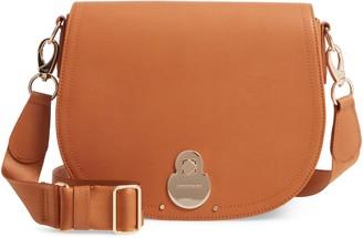 Longchamp Medium Cavalcade Leather Crossbody Bag