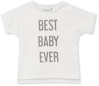 M&Co Best baby ever slogan t-shirt (Newborn-9mths)