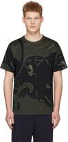 Valentino Green Camo Panther T-Shirt