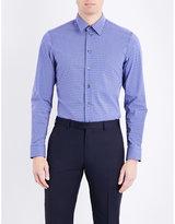 Armani Collezioni Regular-fit Cotton-blend Shirt