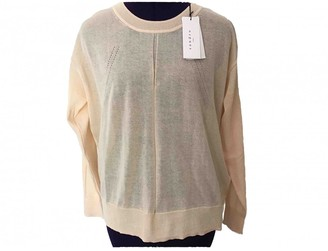 Sandro Pink Cotton Knitwear for Women