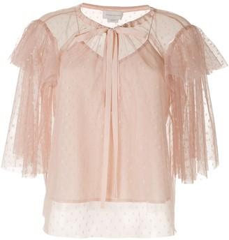 Karen Walker Pimpernel blouse