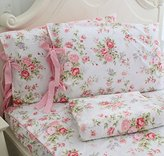 FADFAY Cotton Bed Sheet Set Rose Floral Bed Sheets 4-Piece Queen Size by FADFAY