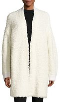 Rag & Bone Cora Textured Sweater Coat, Ivory