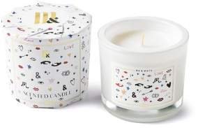 Me & Mats - Love Perfect Scented Candle - White/Glass