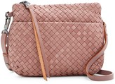 Christopher Kon Woven Leather Crossbody