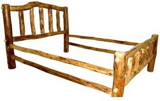 Mountain Woods Furniture Rustic Arts® Platform Bed Mountain Woods Furniture