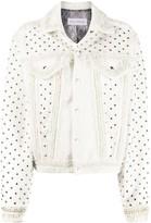 Faith Connexion Tweed Style Studded Jacket