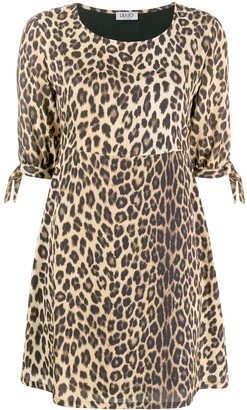 Liu Jo leopard print dress