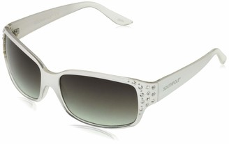 Southpole Women's 1014SP Rectangular Sunglasses with 100% UV Protection 70 mm