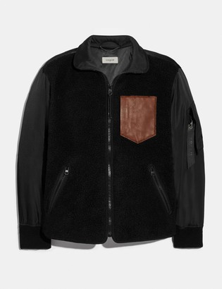 Coach Fleece Ma-1 Jacket