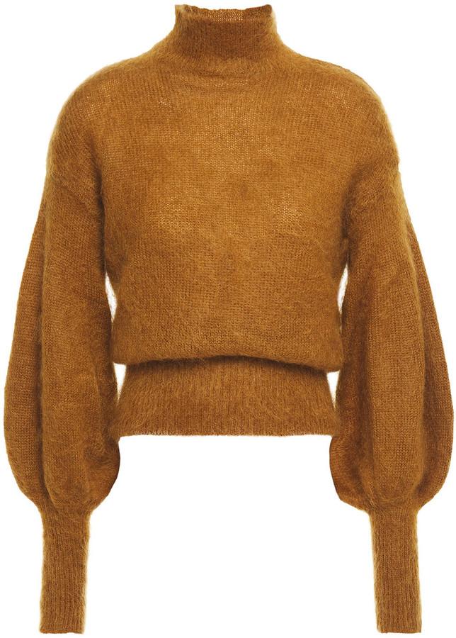 Zimmermann Mohair-blend Turtleneck Sweater