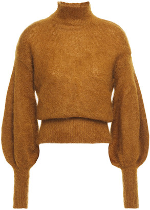 Zimmermann Brushed Mohair-blend Turtleneck Sweater
