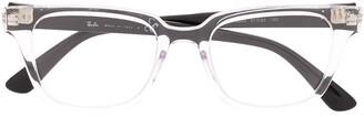Ray-Ban RB4323V square-frame glasses