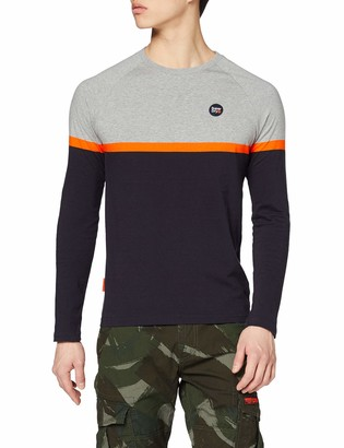 Superdry Men's Collective Colour Block L/s Top Long Sleeve