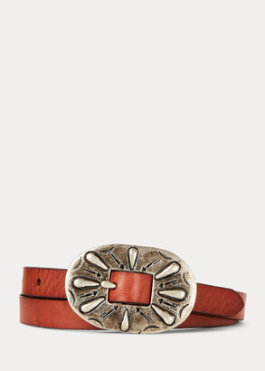 Ralph Lauren Calfskin Leather Belt