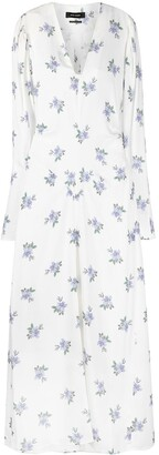 Isabel Marant floral V-neck dress