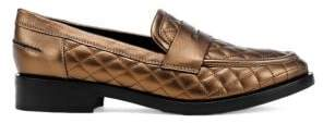 Geox Brogue 17 Leather Loafers