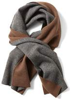 Banana Republic Extra-Fine Merino Reversible Wide Rectangular Scarf