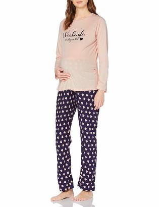 Dorothy Perkins Maternity Women's Weekends We Stay in Bed Pyjama Set