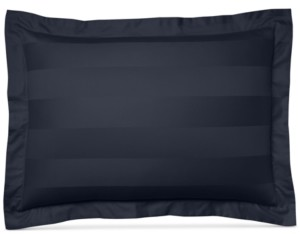 """Charter Club Damask 3"""" Stripe Standard Sham, 100% Supima Cotton 550 Thread Count, Created for Macy's Bedding"""