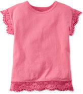 Carter's Lace-Trim T-Shirt, Toddler Girls (2T-5T)
