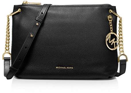 859f40e0d67731 Black Bag With Gold Chain Michael Kors - ShopStyle