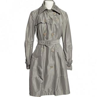 Christian Dior Khaki Cotton Coat for Women Vintage